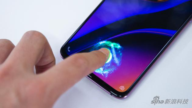 目前很多安卓手机都配备屏下指纹,但识别区仅限屏幕上一小块区域