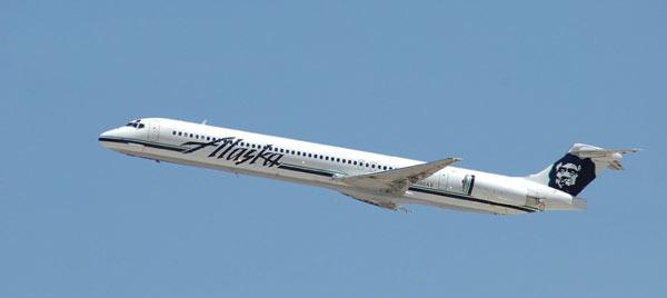 阿拉斯加航空公司飞机失事事件:2000年1月31日,一架客机在在洛杉矶